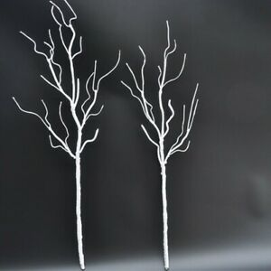 Artificial Branch Fake Tree Branches Dried White Plants Wedding Home Party Decor