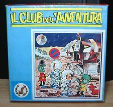IL CLUB DELL'AVVENTURA GIOCO DA TAVOLO PUZZLE CUBI VINTAGE ANNI '70 SECONDA ED.