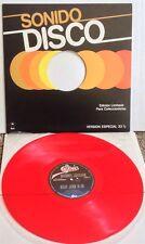 """Michael Jackson Billie Jean / Largate Transparent Red Colored 12"""" Vinyl LP Rare"""