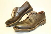 Kenneth Cole Mens 41 8 Brown Leather Casual Oxfords Lace Up Dress Shoes