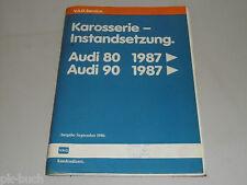 Werkstatthandbuch Audi Karosserie Instandsetzung 80 90 B3 ab 1987