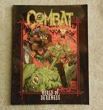 world of darkness    combat      book