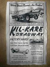 "(607) DRAG STRIP KIL-KARE 57 FORD HOT ROD GASSER GARAGE RACING POSTER 11x17"""