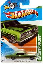 2012 Hot Wheels Treasure Hunt #60 1965 Chevrolet Malibu