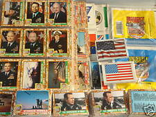 1991 Topps Desert Storm Cards, Stickers, Mint, Sets