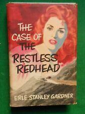 THE CASE OF THE RESTLESS HEAD ERLE STANLEY GARDNER PERRY MASON 1961 UK HARDBACK