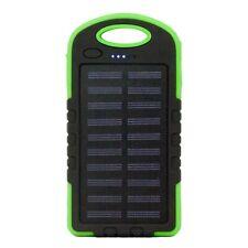 Banco de energía Cargador USB solar Luz de emergencia LED a prueba de golpes a p
