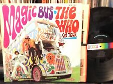 THE WHO on tour MAGIC BUS stereo  DL 75064 looks VG+ plays VG++
