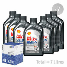 Engine Oil and Filter Service Kit 7 LITRES Shell Helix Ultra Professional 7L