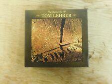 The Remains of Tom Lehrer [Box] by Tom Lehrer (CD, May-2000, 3 Discs, Rhino