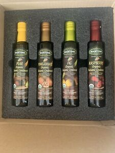MANTOVA Organic  Balsamic Vinegars of  Madera~PEAR RASPBERRY FIG &  POMEGRANATE