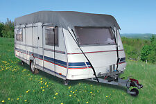 Caravan motorhome roof top cover 5.5m to 6m max 2.3m wide with tie down straps