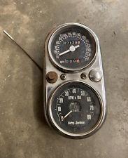 Harley Shovelhead FX FXE Speedo Speedometer Gauge Nice