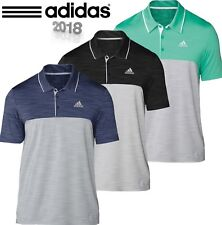 """ NEW 2018 "" ADIDAS GOLF ULTIMATE 365 HEATHER POLO SHIRT MENS PERFORMANCE TOP"