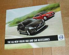 Volvo V60 & S60 Accessories Brochure 2010-2011