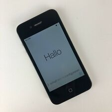 Apple iPhone 4 - 8GB - Black A1332 (GSM) Works Fair Condition Smartphone Parts