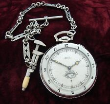 Men's 1927 Ball Watch Co. Pocket Watch w/ Chain & Presentation Box - SERVICED