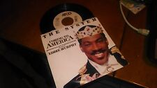 THE SYSTEM COMING TO AMERICA EDDIE MURPHY 45 RPM RECORD IN PICTURE SLEEVE