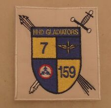 """1990'S ARMY AVIATION 7TH OF 159TH AVIATION GERMAN MADE """"HHD GLADIATORS"""""""
