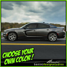 2015 and up Dodge Charger RT SRT SXT Scat Pack Hellcat Side Scallop Graphics 4