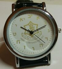 IDF WRIST WATCH, WATER RESISTENT, HIGH QUALITY, CITIZEN MOVEMENT HAND MADE DIAL,