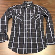Airwalk Men's  Button-up Long Sleeve Shirt, size M,  turquoise,  cotton