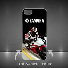 Yamaha Motorcycle logotipo de lujo duro funda para APPLE IPHONE, SAMSUNG
