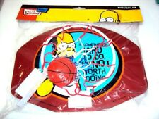 Simpsons Mini Basket ball set  New If somethings hard to do its not worth doing