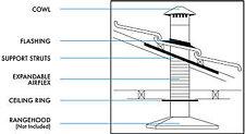 Abey 150mm Tiled Roof Rangehood Flue/Vent Kit Rhvt 6