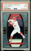 2018 Chronicles Angels Future HOFer MIKE TROUT Card PSA 9 MINT Low Pop 22