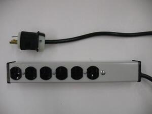 WIREMOLD P10113 Server Grade Surge Protector PDU 6 Outlets 20A 120V NEMA L5-20P