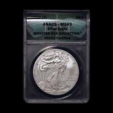 2012-S $1 American Silver Eagle ANACS MS69 - Free Shipping USA