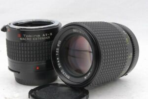 Exc+++ Tokina AT-X Macro 90mm F 2.5 F/2.5 For Nikon Ai Lens w/Extender *8601317