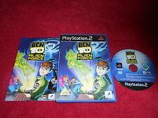 Ben 10 Alien Force Original Black Label Sony Playstation 2 PS2 PAL VGC