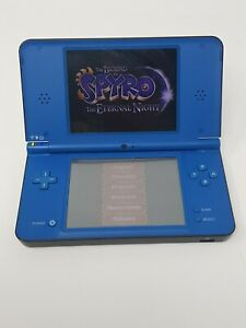 Nintendo DSi XL Console - Midnight Blue/ read full Description + brain training