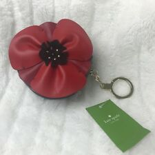 Kate Spade Ooh Poppy Coin Purse Mini Leather Goods NWT