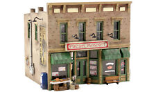 Woodland Scenics N PF5200 Fresh Market Pre-Fab Building Kit. New