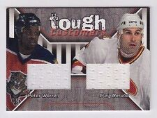 2001-02 Be A Player Update Peter Worrell Craig Berube Tough Customers Jersey /90