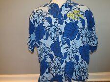 Corona Extra Hawaiian Button Front Short Sleeve Shirt XXL