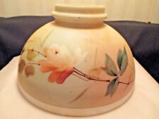 """10"""" Antique Floral Painted Lamp Shade"""