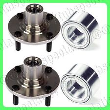 FRONT WHEEL HUB & BEARING FOR FORD ESCORT MAZDA PROTEGE 323 MX3 SET PAIR NEW