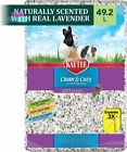 Kaytee Scented Small Animal Pet Bedding Odor Control Lavender Scent 49.2 Liters