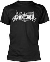 EMPEROR Classic Old School Band Logo BLACK T-SHIRT OFFICIAL MERCHANDISE