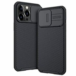 2021 iPhone 13 Pro Max Case Camera Slide Protective Shockrpoof TPU PC Cover BLAC