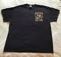 2013 Bike Week Daytona Beach Florida T-Shirt Navy XL * 72nd Annual