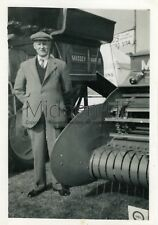 RB239 Old PHOTOGRAPH Massey Harris Agricultural Equipment - Bedford