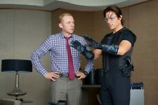"""Simon Pegg UNSIGNED 6"""" x 4"""" photo - N6507 - Mission: Impossible - Ghost Protocol"""