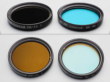 2x 37mm IR Cut hot mirror Anti-Reflective Coated Schott BG-40 glass filter UG-11