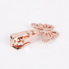 5# Rose gold High-end zipper head with butterfly slider