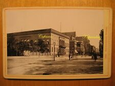 1891 altes Kab Foto Breslau Schweidnitzer Strasse / Wroclaw Polen Polska